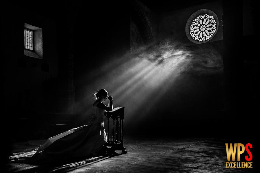 Fotografia premiada en la Wedding Photography Select del Reino Unido con el primer premio, realizada en Candelario, Salamanca