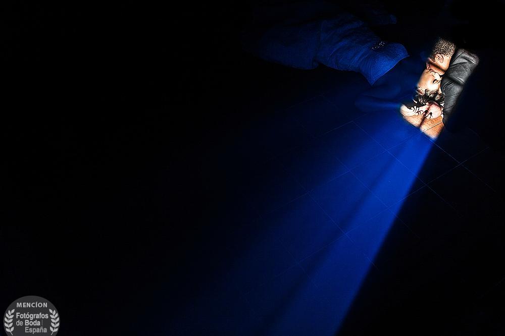 Fotografía ganadora de la mención de honor en la categoría de luz, realizada en Sieteiglesias de Tormes